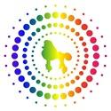 Poodle Rainbow Studs