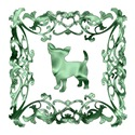 Chihuahua Green Ornamental Lattice