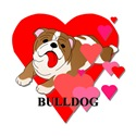 Bulldog Hearts