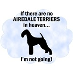 Airedale Terriers In Heaven T-Shirt