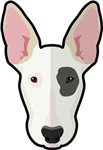 Cartoon Bull Terrier