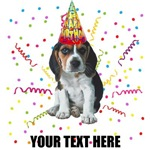 Personalized Beagle Birthday