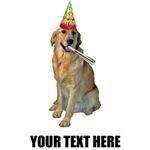Personalized Golden Retriever Birthday