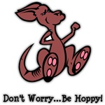 Be Hoppy Kangaroo T-Shirts