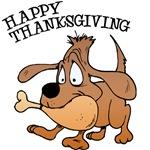 Happy Thanksgiving Dog