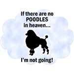 Poodles In Heaven T-Shirts