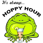 Hoppy Hour Frog T-Shirts