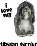 Tibetan Terrier Love T-Shirts