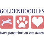 Goldendoodle Pawprints T-Shirt