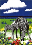Zebra Family T-Shirts