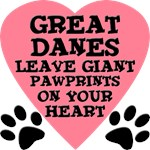 Great Dane Pawprints