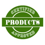 Certified Approved Products