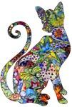 Wild Paisley Cat