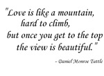 Like a mountain...