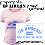 Proud Air Force Girlfriend