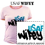 USAF Wifey T-Shirts and Gifts