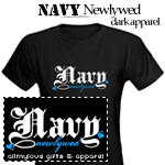 Navy Newlywed Dark Apparel
