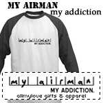 My Airman, My Addiction T-Shirts and Gifts