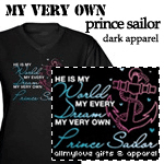 My Very Own Prince Sailor Dark Apparel