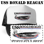 USS Ronald Reagan T-Shirts and Gifts