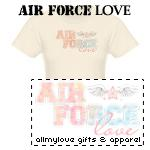 Air Force Love T-Shirts and Gifts