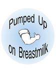 Pumped Up on Breastmilk, blue