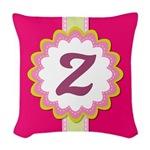 Cute Pink Monogram Stitch Logo Gifts