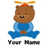 Personalized Bear Kids T-shirts