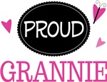Proud Grannie Butterfly T-shirts and Gifts