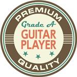 Guitar Player T-shirts (Premium Quali