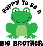 Hoppy to be a Big Brother Gifts and T-shirts