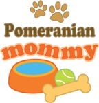 Pomeranian Mom T-shirts and Gifts