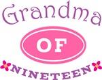 Grandma Of Nineteen T-shirt Gifts