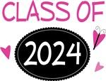 Cute Class of 2024 Pride T-shirts
