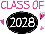 Cute Class of 2028 Pride T-shirts