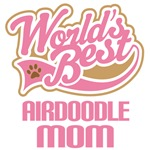 Airdoodle Dog Mom T-shirts