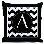 Chevron Monogrammed Gifts and Pillows