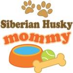 Siberian Husky Mom T-shirts and Gifts