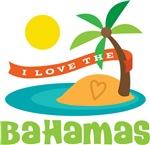 I Love The Bahamas T-shirts