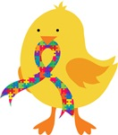 Autism ASD Chick T-shirts
