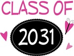 Copy of Cute Class of 2031 Pride T-shirts