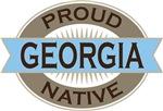 Proud Georgia Native T-shirts
