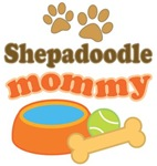 Shepadoodle Mom T-shirts and Gifts