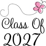 Class of 2027 Butterfly Grad Tees