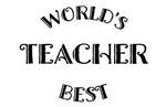 Worlds Best Teacher Gift Tees