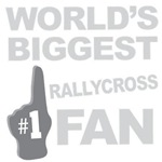 Rallycross Fan Foam Hand Tees