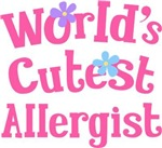 Worlds Cutest Allergist Tee Shirts