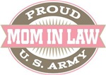 Proud U. S. Army Mother In law T-shirts