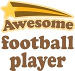 Awesome Football Player T-shirts