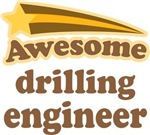 Awesome Drilling Engineer T-shirts